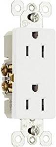 Pass & Seymour 885WCP8 Premium Decorator Outlet 15 Amp 10pk
