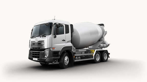 Ud Quester 6x4 Concrete Mixer Truck With 9cbm Capacity