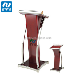 wooden church podium stand with English-style