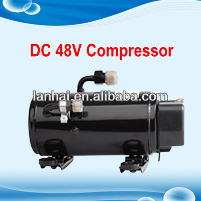 sleeper air conditioner for small truck with 12v 24v 48v rotary DC compressor