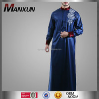 modern islamic clothing embroidered mens thobe