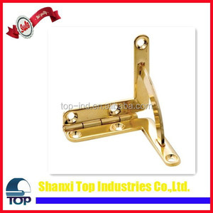 China Hot Sale Solid Brass Box Quadrant Hinge, Large