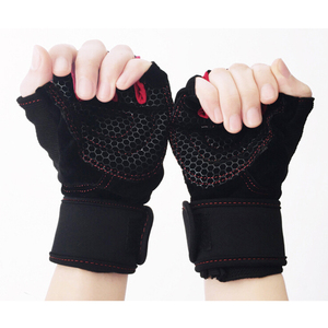 Custom Composite materials gym body building training fitness gloves sports and sports hand gloves for Sports Safety