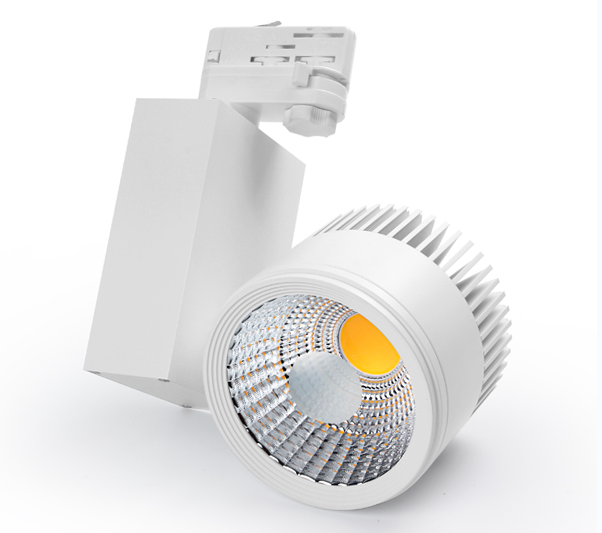 Track light LED spot rail 2/3/4 wires decorating shop store, instore lighting 30W LED track light