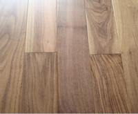 New best price America Black Walnut Flooring Prefinished 1900mm Unfinished Hardwood Floor 15mm thickness