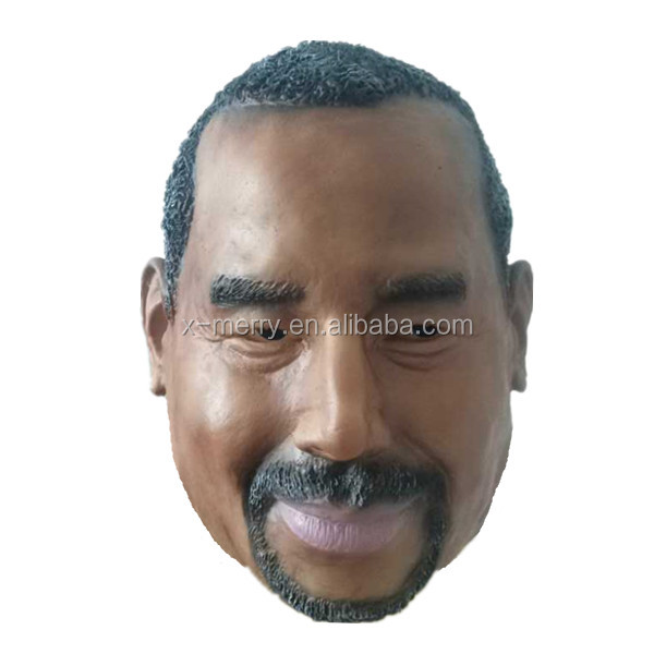X-MERRY Ben Carson Rubber Halloween Mask Celebrity Face Mask Popular US Doctor Latex Face Mask