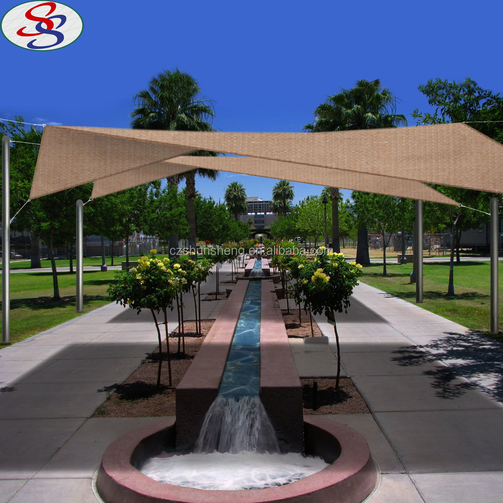 car park automatic shade sails cloth