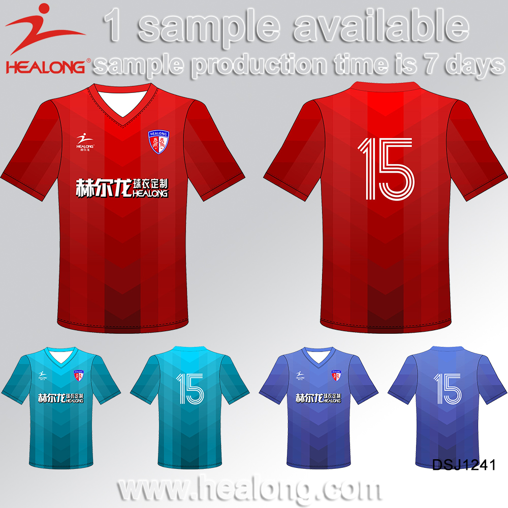 Kid Soccer Uniform Shirt Set Suit Clothing Jersey Custom Cheap 2017