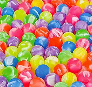 24 marble superballs high bounce bouncy balls 27 mm 1 inch vending machine balls BY DISCOUNT PARTY AND NOVELTY