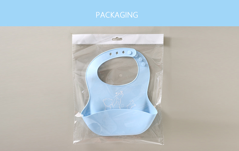 Easily Wipes Clean Silicone Baby Bibs Soft Silicone Baby Bibs Waterproof Bib