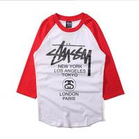 Wholesale 282 china suppliers 2017 cheap fashion long sleeve baseball shirt raglan tee