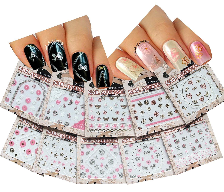 Cheap Pink 3d Nail Designs, find Pink 3d Nail Designs deals on line ...
