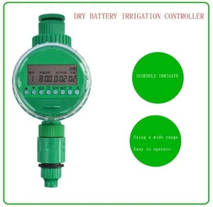 digital Plastic garden water timer 3/4 connector Electronic Automatic Program Sprinkler Control Water irrigation controller