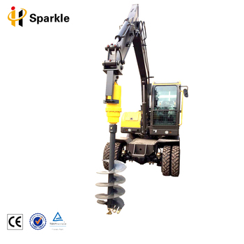 Hydraulic Powered Earth Drill Earth Auger for Tractor, Gearbox Auger for Drilling Rig Parts