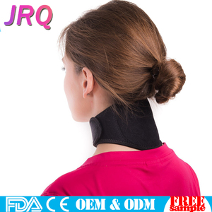 Neck Pain Relief Wrap Neck Stiffness Brace Soft Cervical Support Collar Magnet Physical Therapy for Migraines Headache