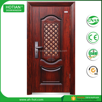 Main Gate Designs Steel Security Doors Used Wrought Iron Door Gates ...