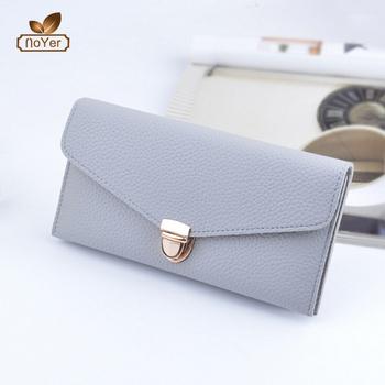 deae937826f Chine fournisseur dames secret portefeuille avec serrure femmes main  portefeuilles en cuir porte-monnaie