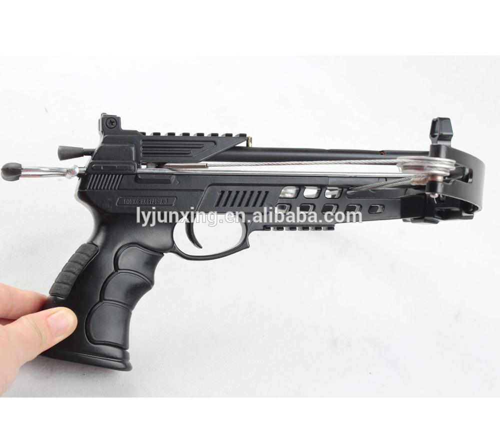 Aluminum Pistol Crossbow For Hunting 40lbs Crossbow Bolt Crossbow Scope -  Buy Hunting Crossbow,Pistol Crossbow,Junxing Archery Product on Alibaba com