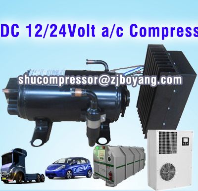 dc 12/24volt a/c compressor cool the sleeper cabs car air conditioner 12v dc air conditioner solar room heater