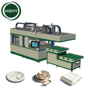 HGHY Automatic Pulp Fiber Plate Making Machine