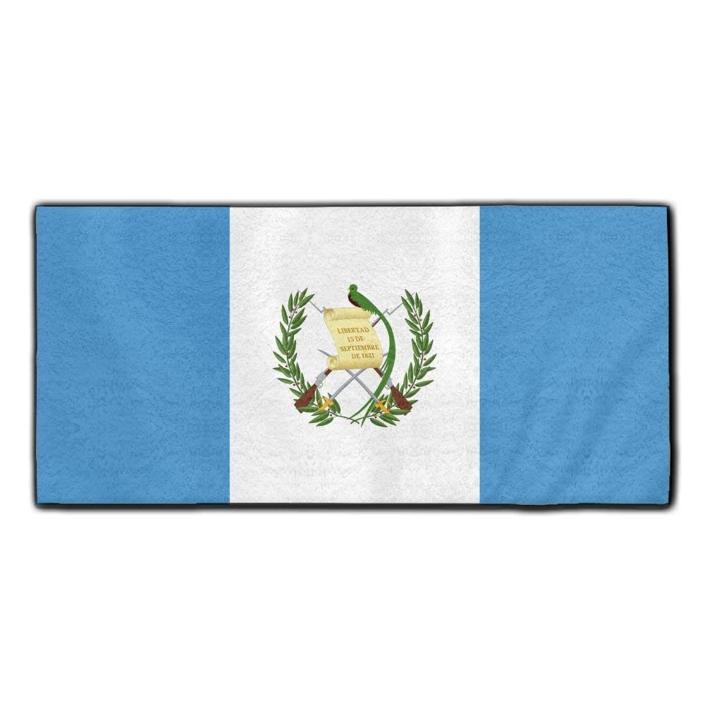 ChunLei Guatemala Flag Washcloths Face Towel Hair Care Towel Gym And Spa Towel Kitchen Dish Towel