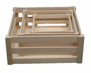 High quality Wood Box Fruit Crate Wooden Vegetable Crates