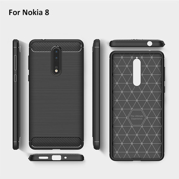 new arrivals 86a32 f88bc Carbon Fiber Case For Nokia 8 Rugged Case Cover Tpu Armor Phone Cover - Buy  Armor Case For Nokia 8,Case Cover For Nokia 8,Phone Cover For Nokia 8 ...