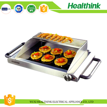 Easily cleaned smokeless tabletop korean stainless bbq grill machine
