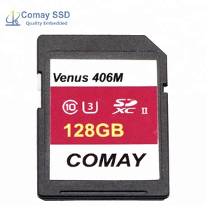 High Speed UHS-II Commercial MLC 128 GB SD Card Memory
