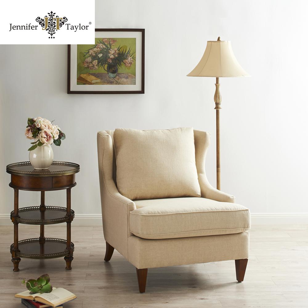 Esperando Salon Muebles De Lino Tela Tapizados Reclinable Silla  # Muebles Tapizados En Tela