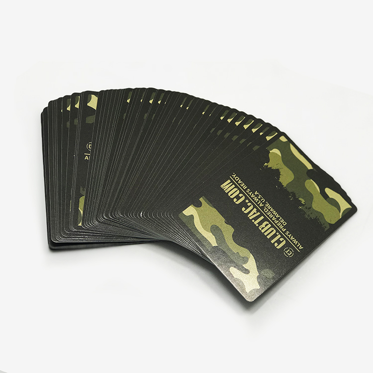 Custom Printed Advertising Mini Playing Cards Game