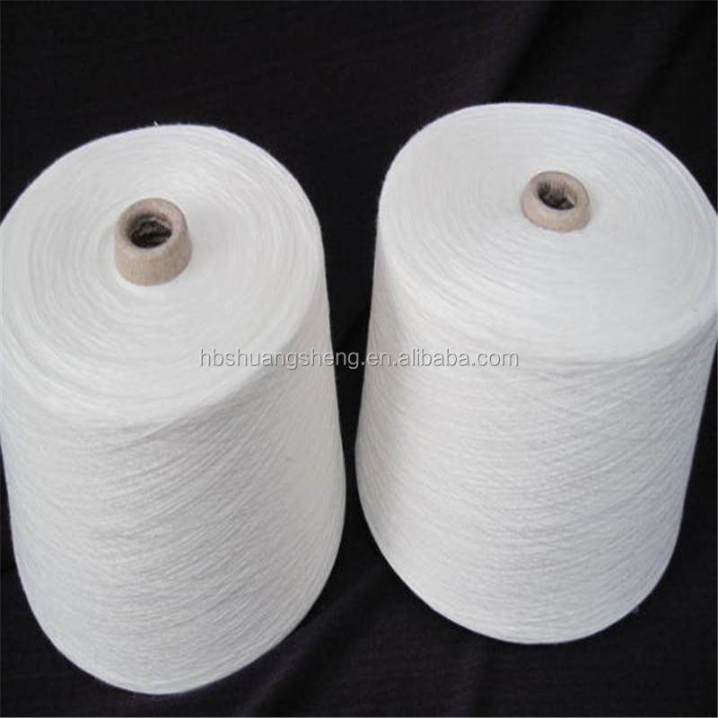 MVS 30s/1 blended polyester viscose yarn for knitting