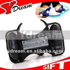 2014 Best Selling Item de Natal Preto PU Flashing Roller (OEM Fábrica)