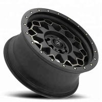 Standard SAE J2530 Deep Lip Vehicle 17 20 22 24 inch 4x4 Alloy Off Road Wheels for Light Truck