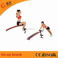 high quality Ab exercise fitness bench wholesale adjustable workout sit up bench