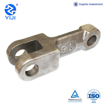 Forged chain link Imported from Redler technology