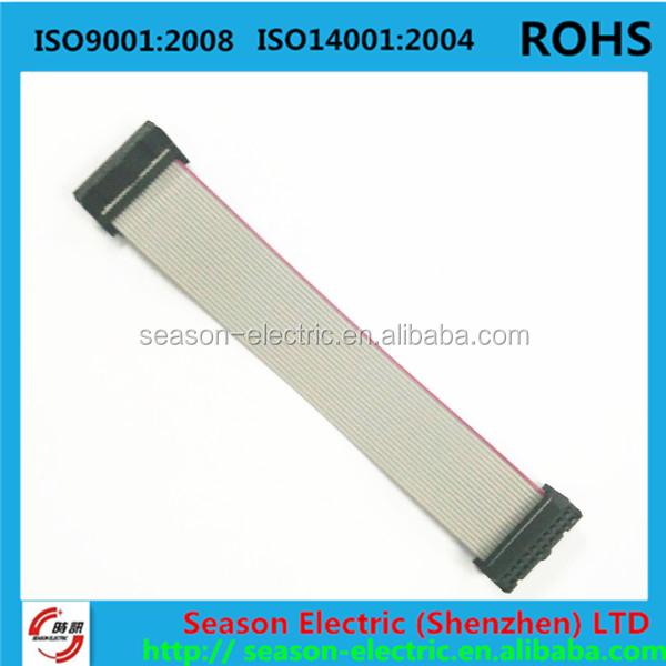 10 Pin Idc Flat Ribbon Cable,28awg Flat Ribbon Cable,Custom Flat ...