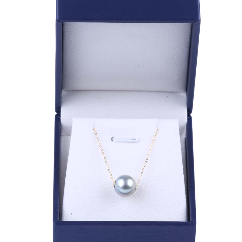 9-10mm Size Akoya pearl 18k gold jewelry necklace