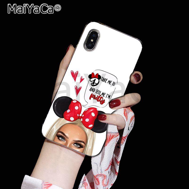 Maiyaca девушка королева мама и ребенок DIY окрашенные красивый чехол для телефона для Apple iphone 11 pro 8 7 66S Plus X XS MAX 5S SE XR чехлы(Китай)