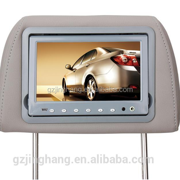 2018 New 7 inch In-car Android 4.0 touch screen headrest monitor with 3G Wifi Pillow Monitor