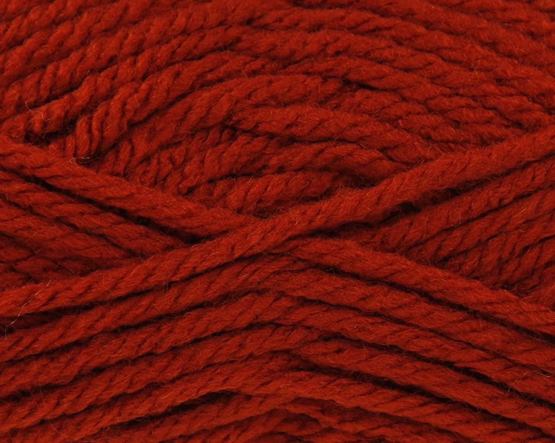 King Cole Big Value Super Chunky Knitting Wool 100g Ball (Rust - 1761)