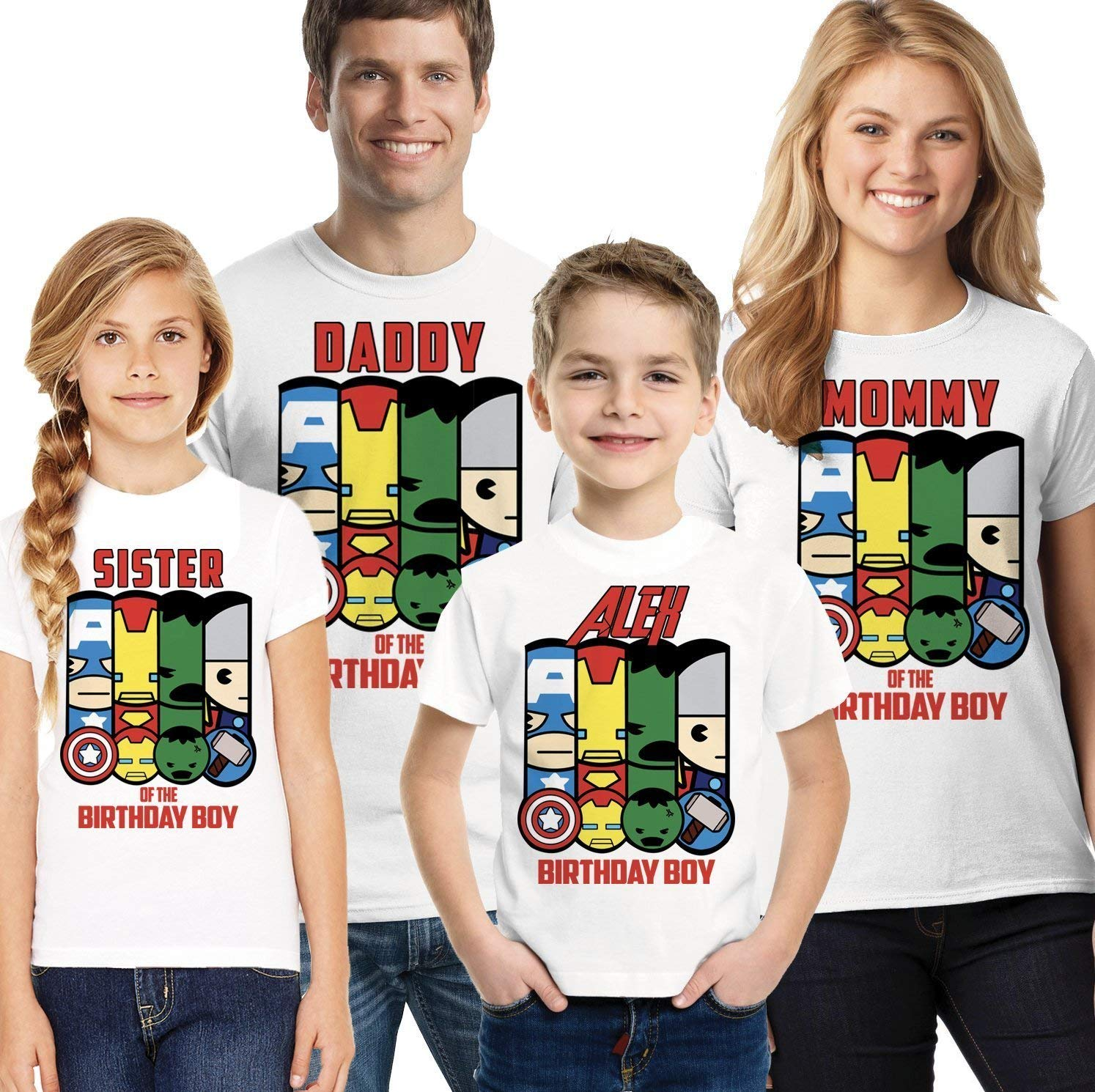 Get Quotations Superhero Birthday Shirt Comic Party