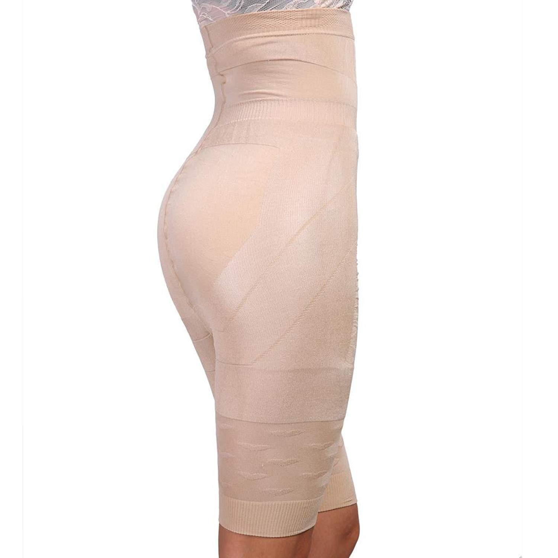 b24d75fa177 Get Quotations · Dethler Women s Corset high Waist Plus Size Dress deep  Plunge Slip Extra Leggings