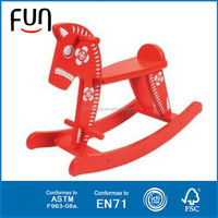 2014 kids wooden rocking horse ride on horse toy kids wooden rocking horse AT11427