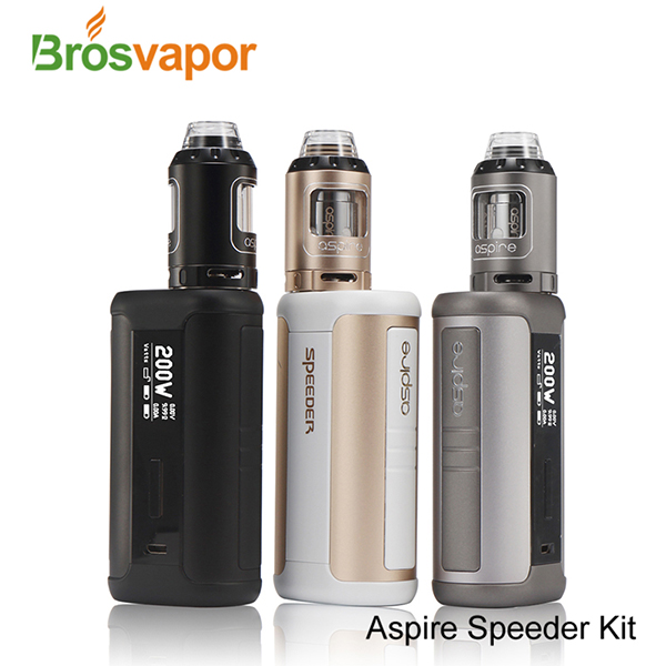 Newst Aspire Speeder 200W Starter Kit Standard Version 4.0ml Aspire Speeder 200W Kit Wholesale