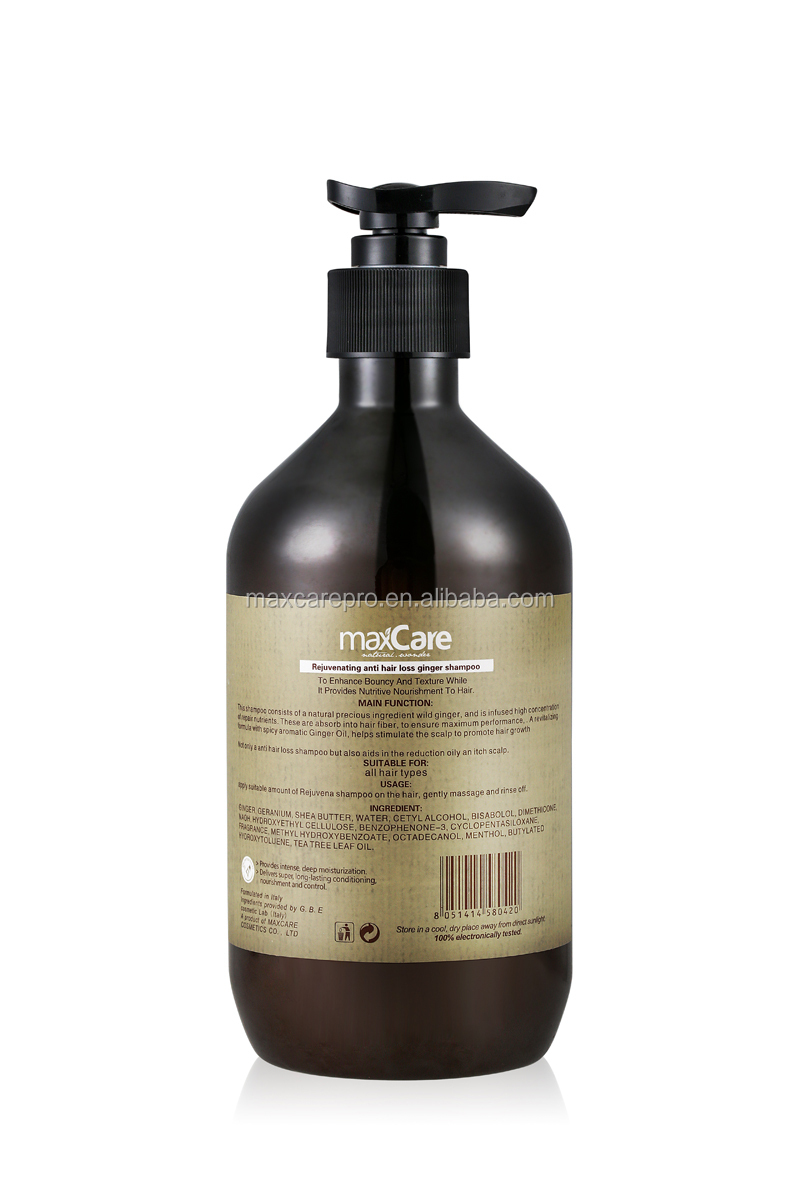Ginger Professional Garlic Shampoo For Hair Loss