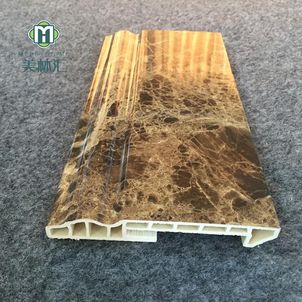 Dekorative PVC Sockelleiste Für Wand Keller Dekorative Linie