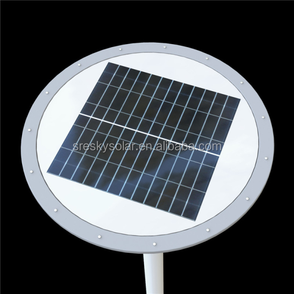 Integrated City Outdoor Solar Courtyard Light For Community