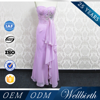 Latest Design Beautifully Hand Beaded Flowing Chiffon Pictures Long ...