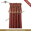 Home decor polyester fabric blackout curtain